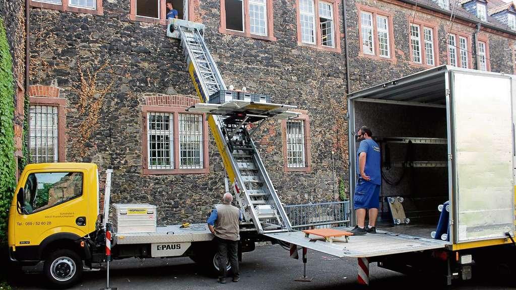 Umzüge Offenbach umzug der stadtbibliothek hanau ist eine große logistische