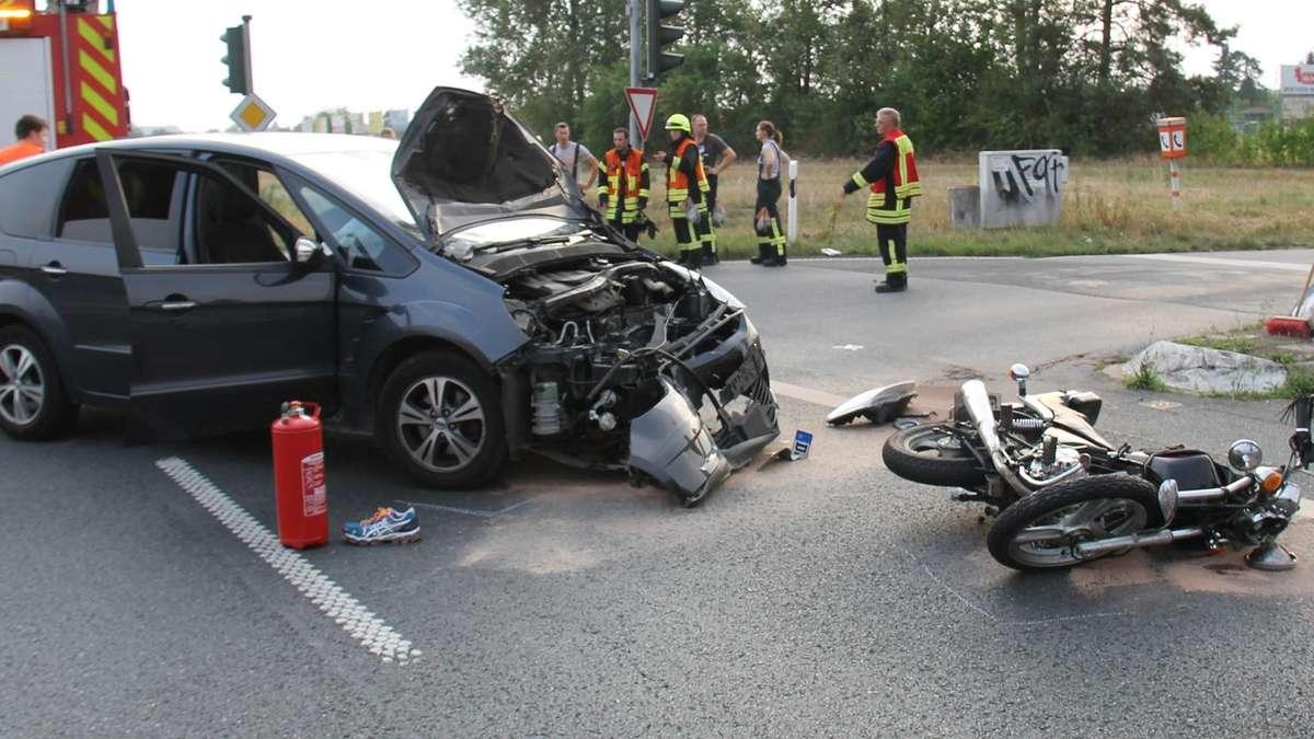 Unfall B26 Gestern
