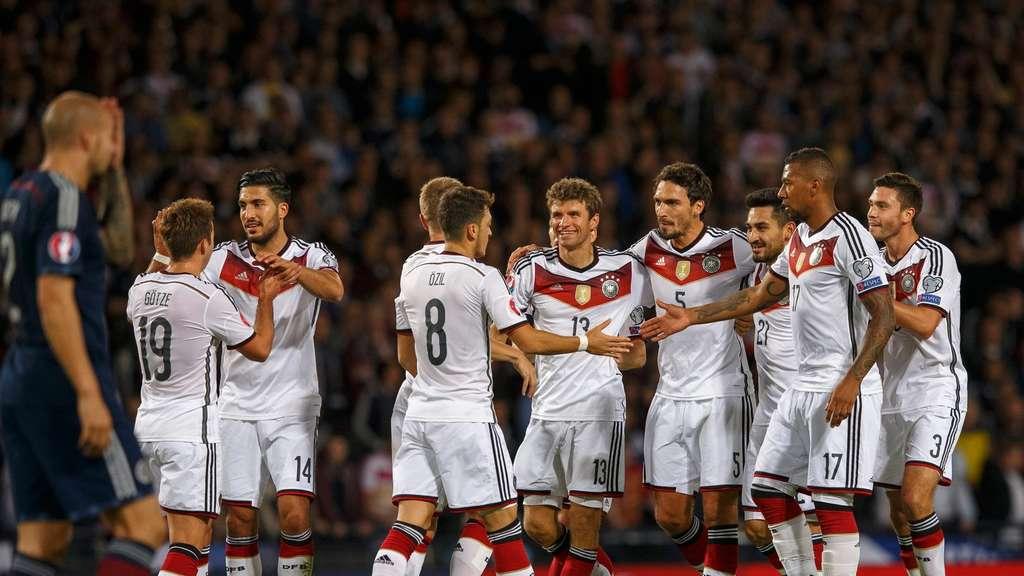 Fussball Deutschland Schottland