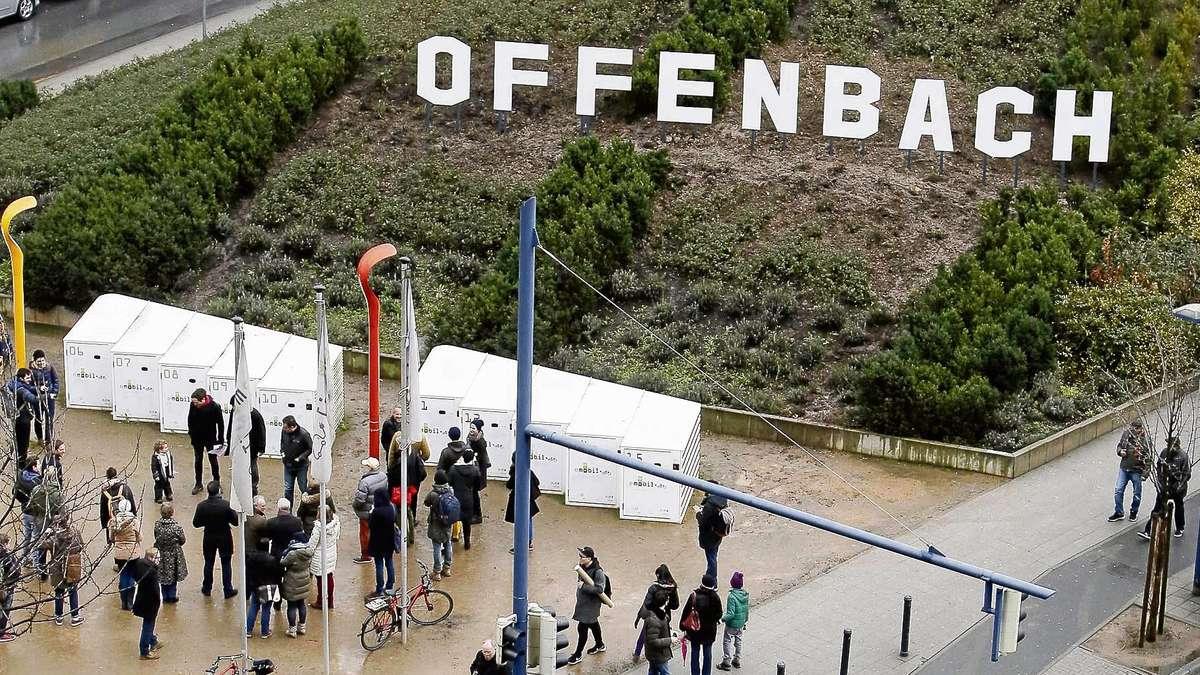 Kunst installation offenbach hills wurde feierlich for Offenbach kunst