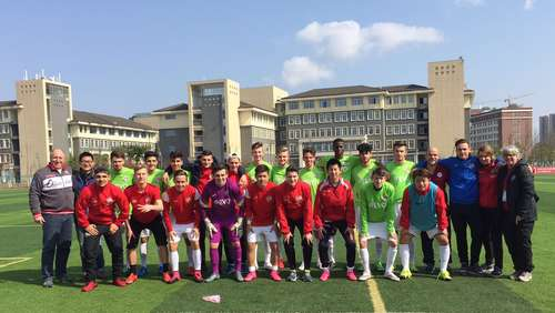 U19 der Kickers Vierter in China