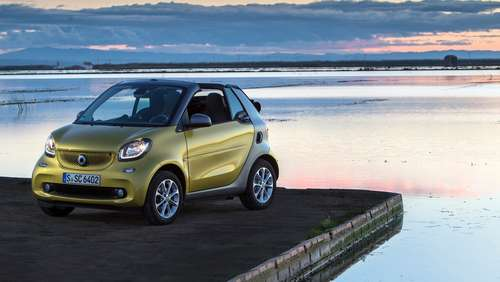 Offener City-Floh: Smart Cabrio