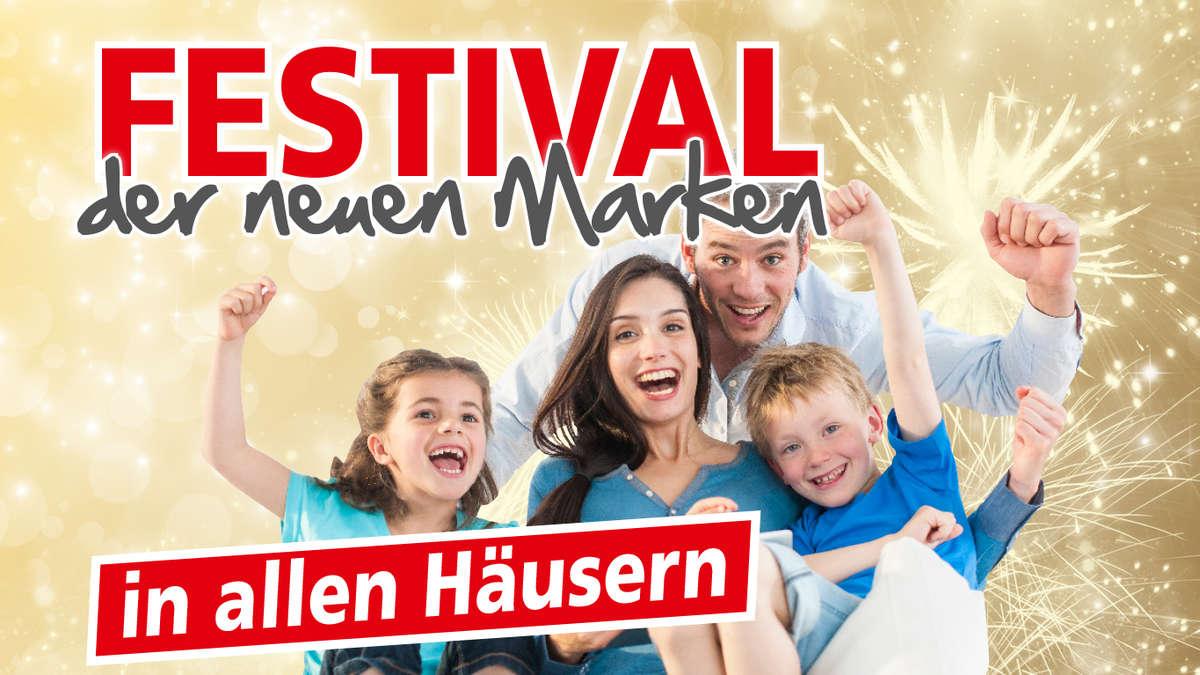 Das Festival Der Neuen Marken Vorbeischauen Feiern Und Sparen