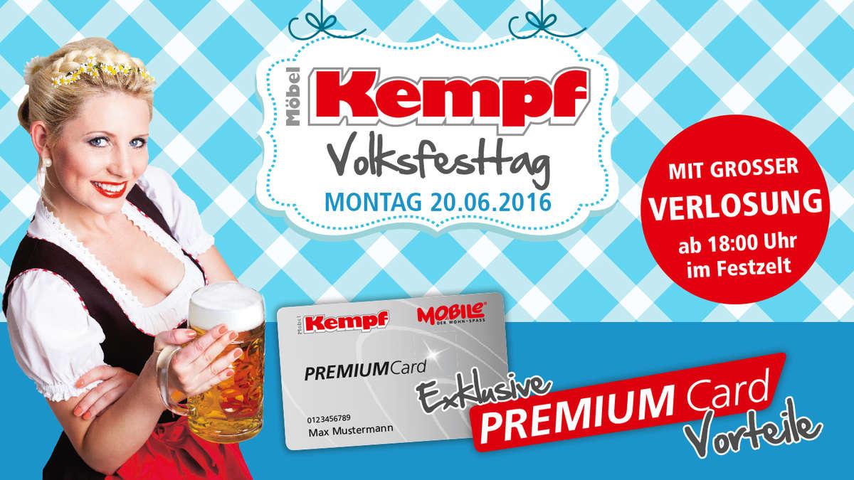 Das 89 Aschaffenburger Volksfest Mit Möbel Kempf Am 20 Juni Wohnen