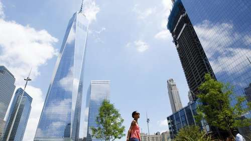 New York: Neuer Park am World Trade Center