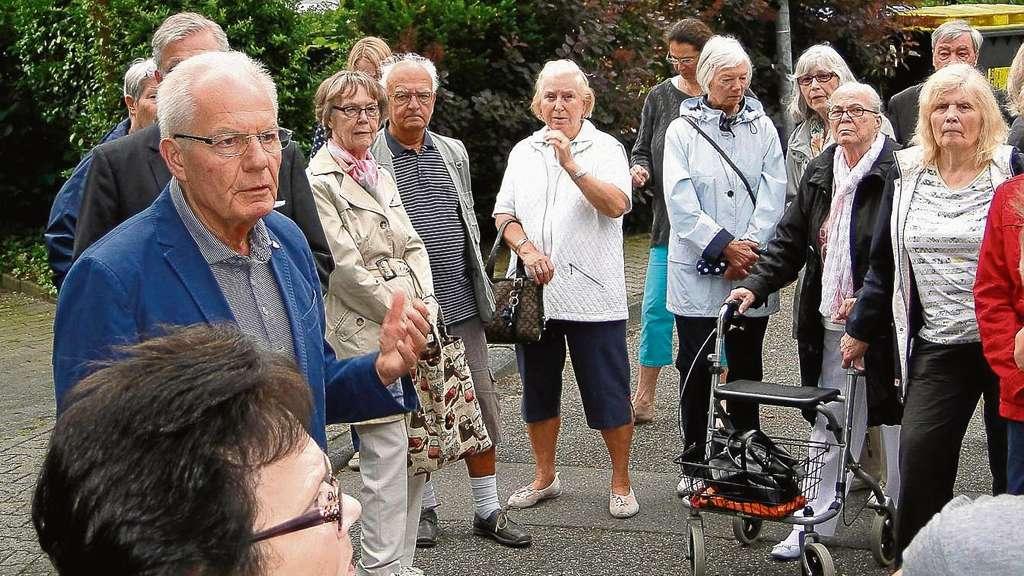 Rundgang durch Gravenbruch: Teilnehmer interessiert die neue ...