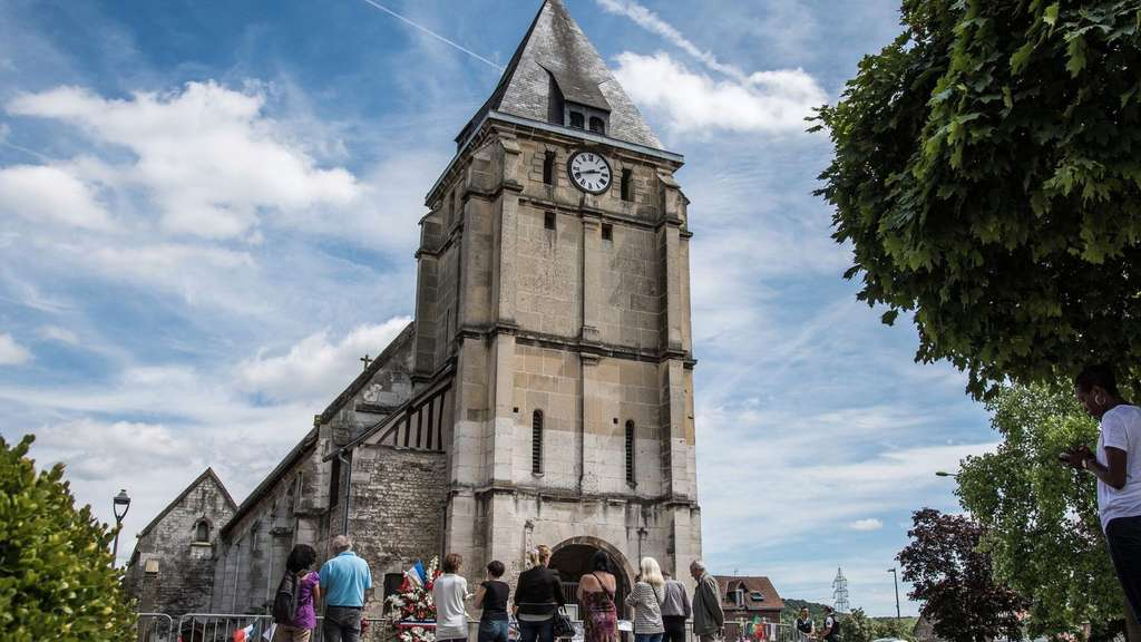 Priest killed in church attack near Rouen aftermath