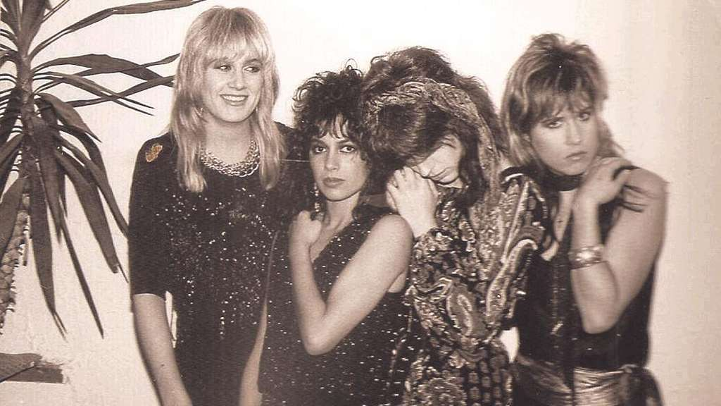 Backstage mit den New-Wave-Heldinnen: The Bangles kamen aus Kalifornien nach Frankfurt.