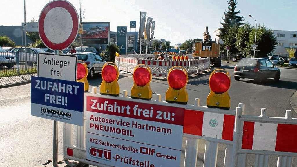 Chaos im Gewerbegebiet Dietzenbach: Missverständliche Beschilderung ...