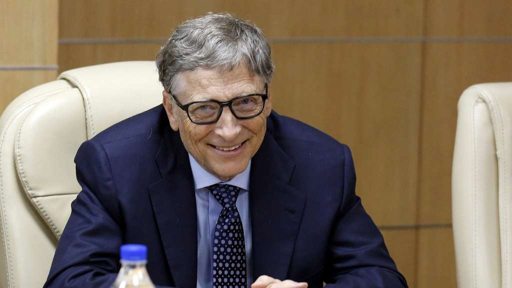 Bill Gates in New Delhi