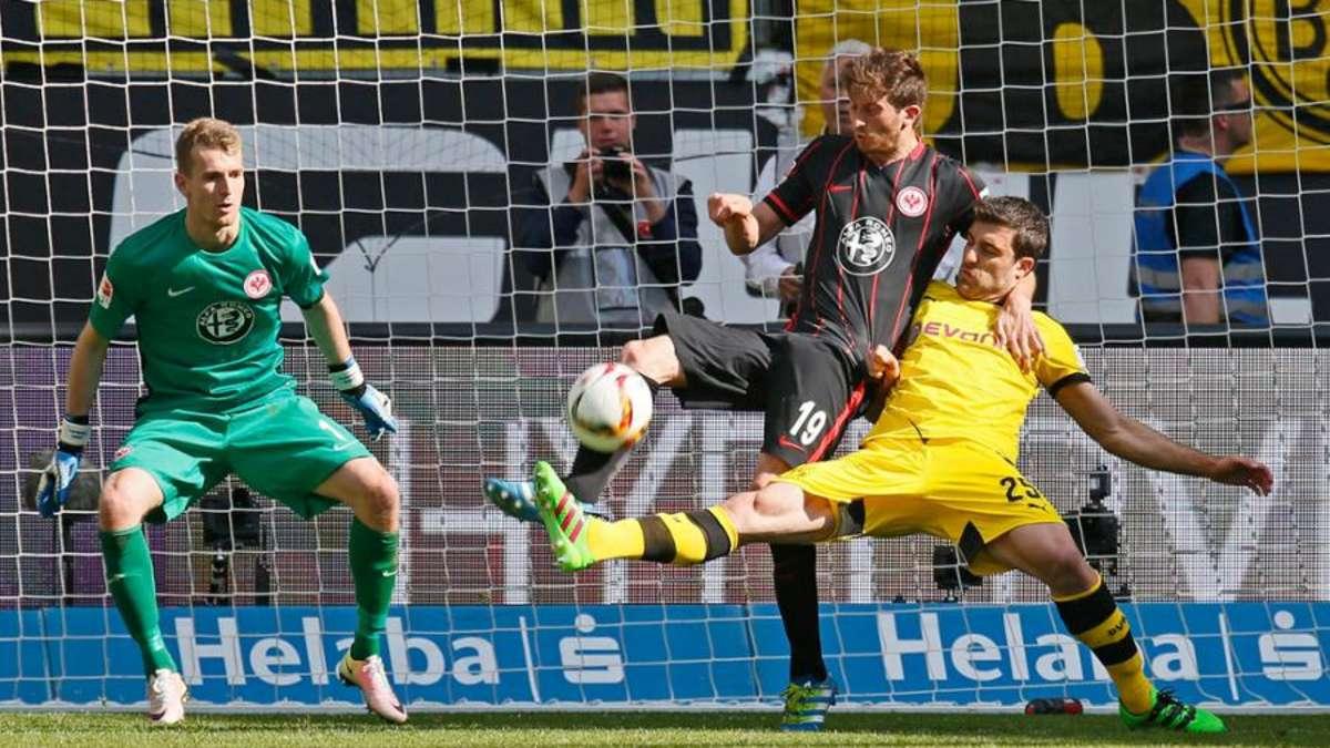 Eintracht Frankfurt Gegen Borussia Dortmund