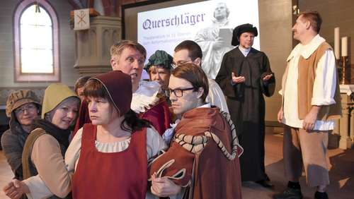 Reformations-Theater in den Kirchen des Dekanats Dreieich