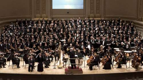"""Rehbeiner"" singen in Carnegie Hall"