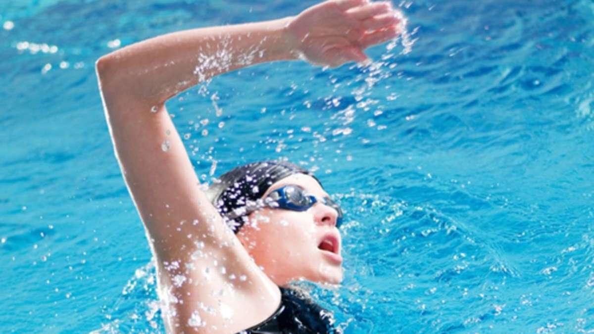 Polizeieinsatz in hallenbad gelnhausen schwimmer bricht for Medida piscina olimpica