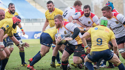Kickers gegen Rugby-Nationalteam