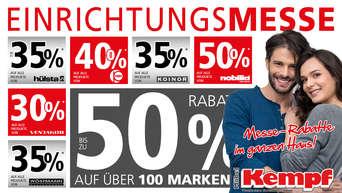 Einrichtungsmesse Bei Möbel Kempf Mega Rabatte Auf über 100 Marken