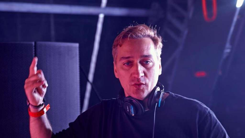 "DJ Paul van Dyk 2016 in Kastellaun (Rheinland-Pfalz) beim Technofestival ""Nature One"". Foto: Thomas Frey"