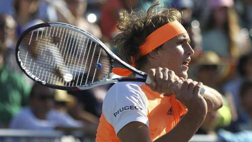 Tennis-Talent Zverev als Geburtstags-Crasher