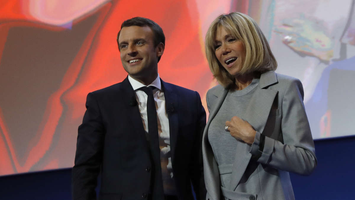 Macron Ehefrau