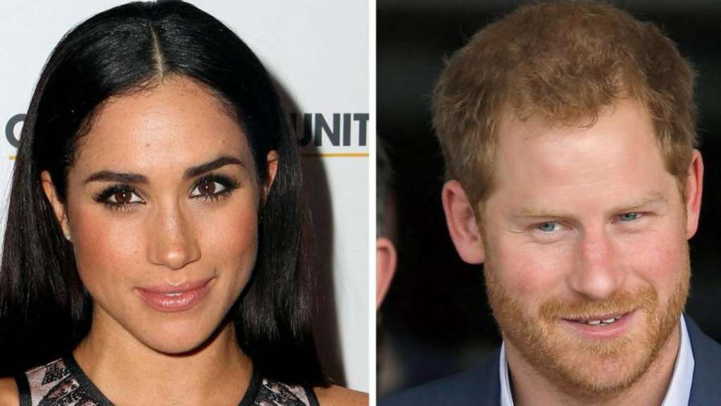 Meghan Markle und der britische Prinz Harry. (Archivkombo). Fotos: Rivera/Shrestha Foto: Rivera/Shrestha