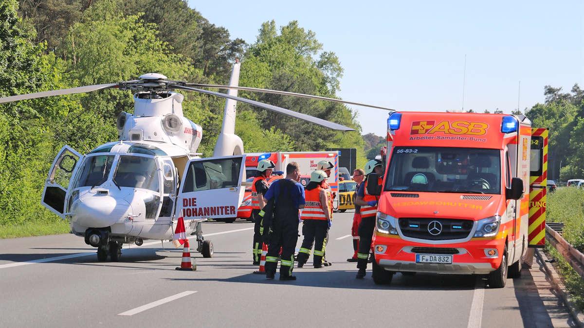 Unfall A5 Seeheim Jugenheim