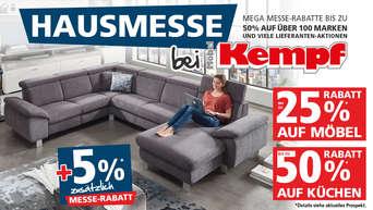 Große Hausmesse Bei Möbel Kempf Mit Vielen Attraktiven Angeboten
