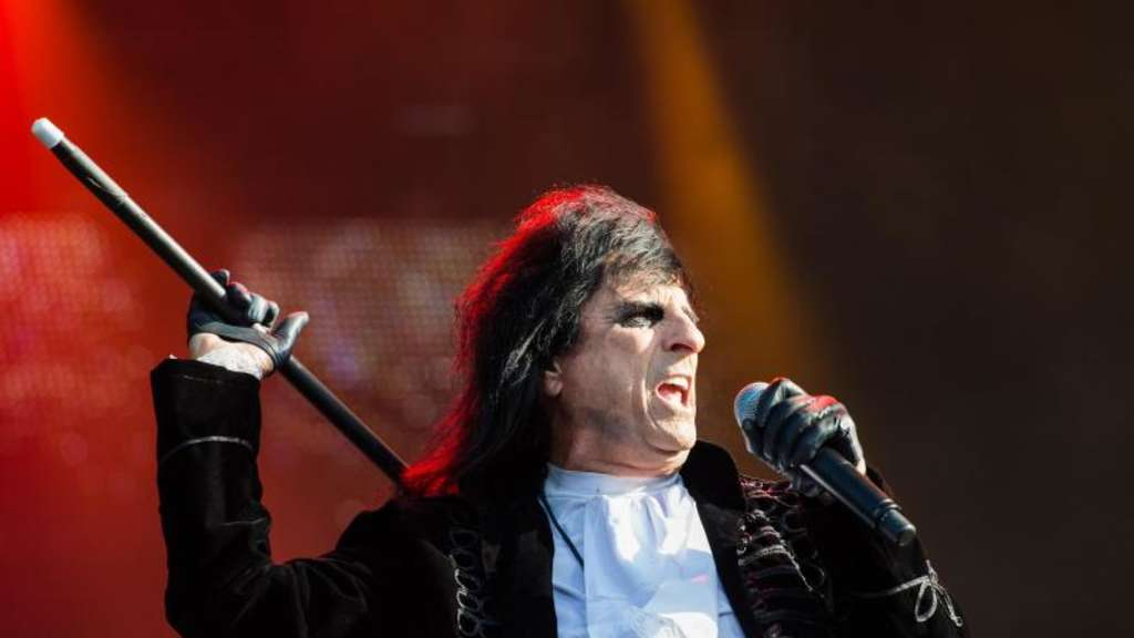 Alice Cooper 2017 in Wacken. Foto: Christophe Gateau