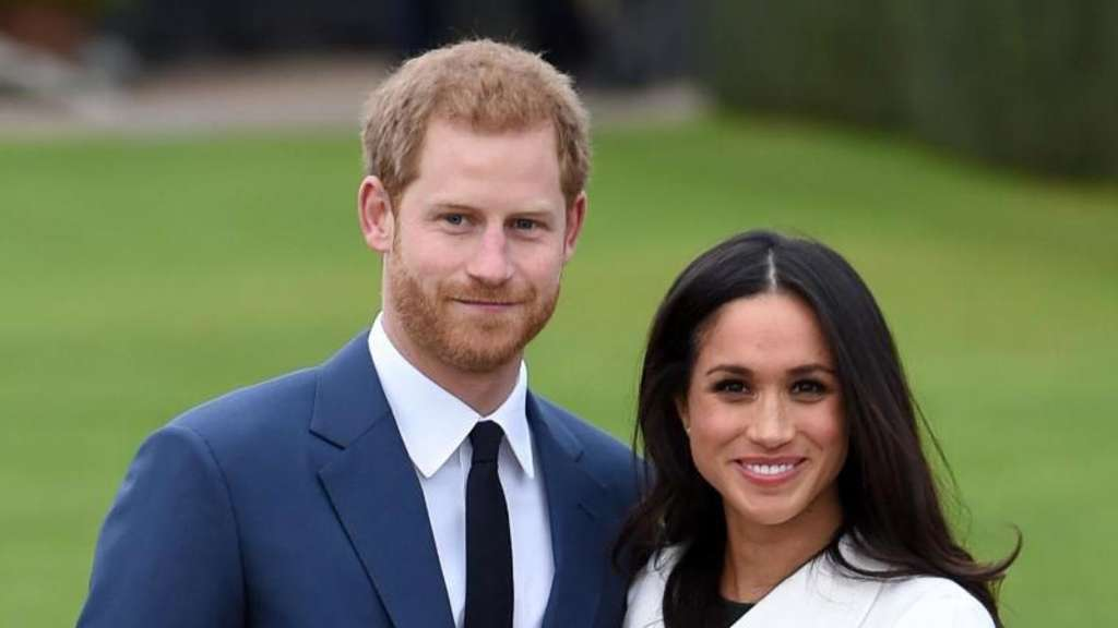 Prinz Harry und Meghan Markle wollen im Mai heiraten. Foto: Eddie Mulholland/Pool Daily Telegraph