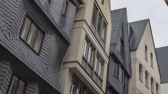 Ein Blick In Die Restaurierte Altstadt
