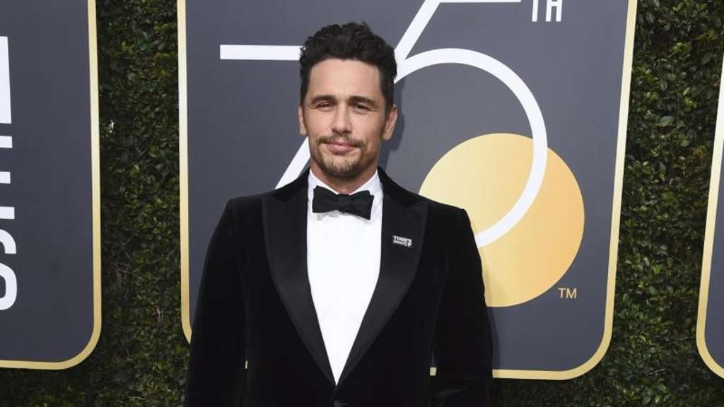 James Franco bei den Golden Globes. Foto: Jordan Strauss/Invision