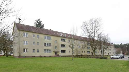 Sanierungsarbeiten in ehemaliger Housing Area