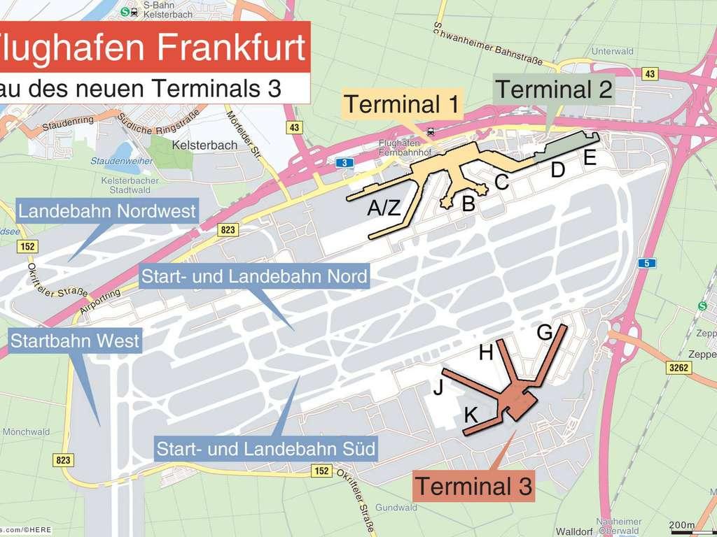 Hessens Grosste Baustelle Am Flughafen Frankfurt Eintauchen Ins Neue Terminal 3 Frankfurt