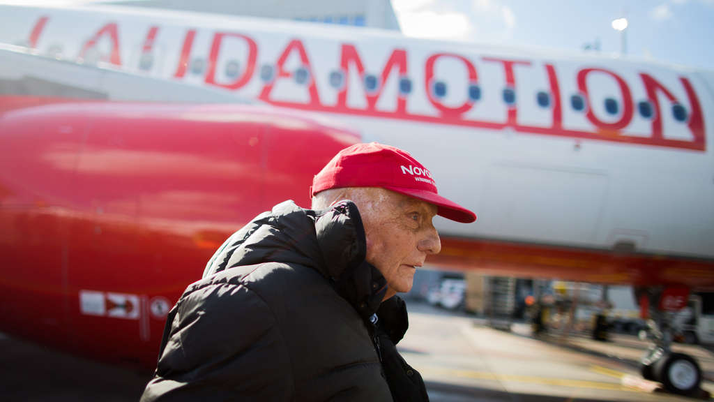Laudamotion in Düsseldorf