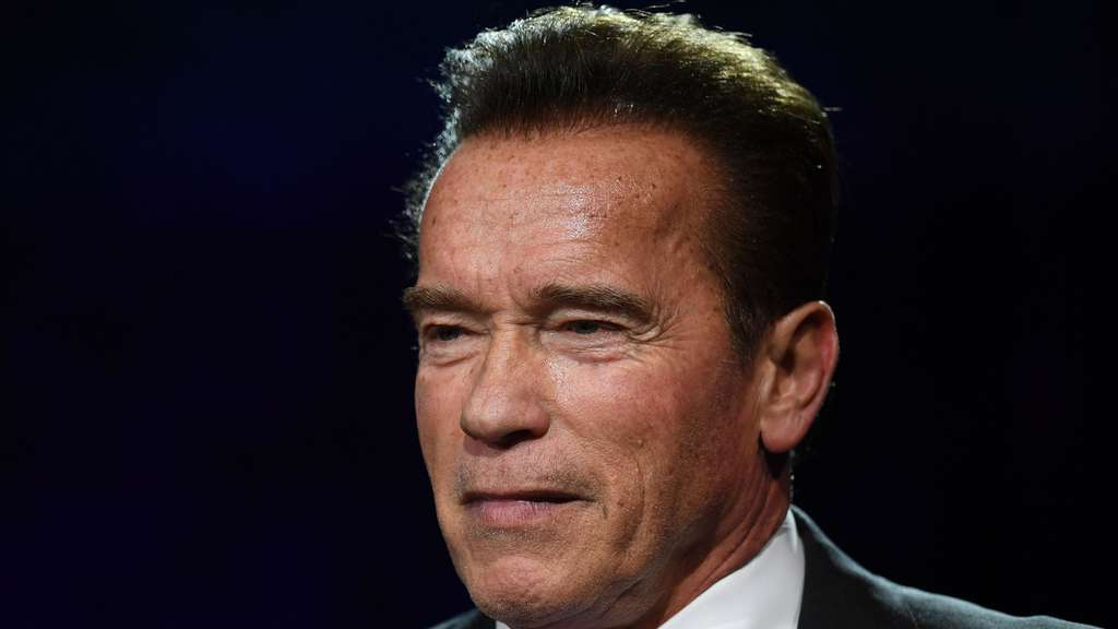 Hollywood-Star Arnold Schwarzenegger.