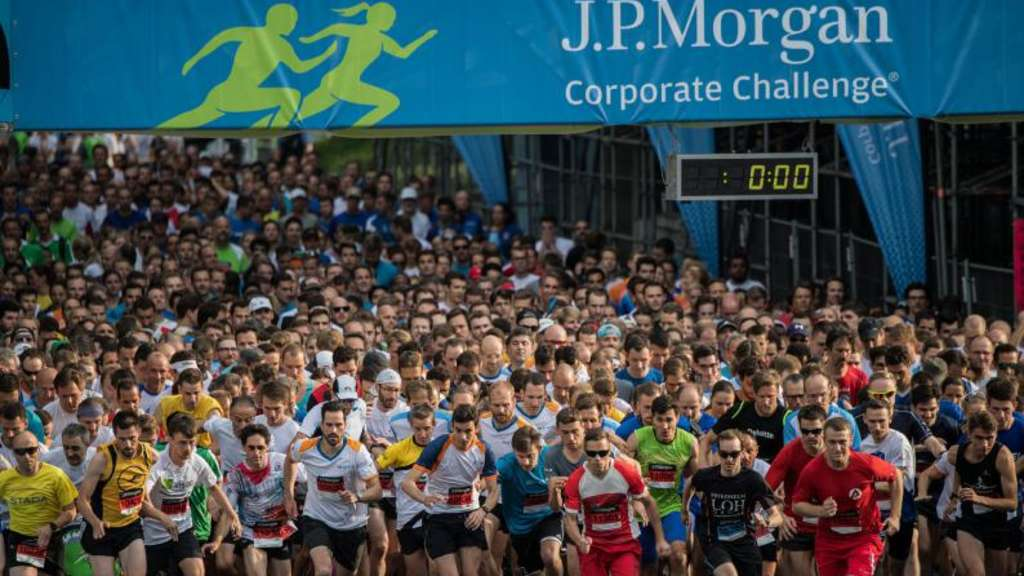 Firmenlauf J.P. Morgan Corporate Challenge
