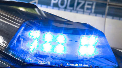 Polizeieinsatz in Waldhof