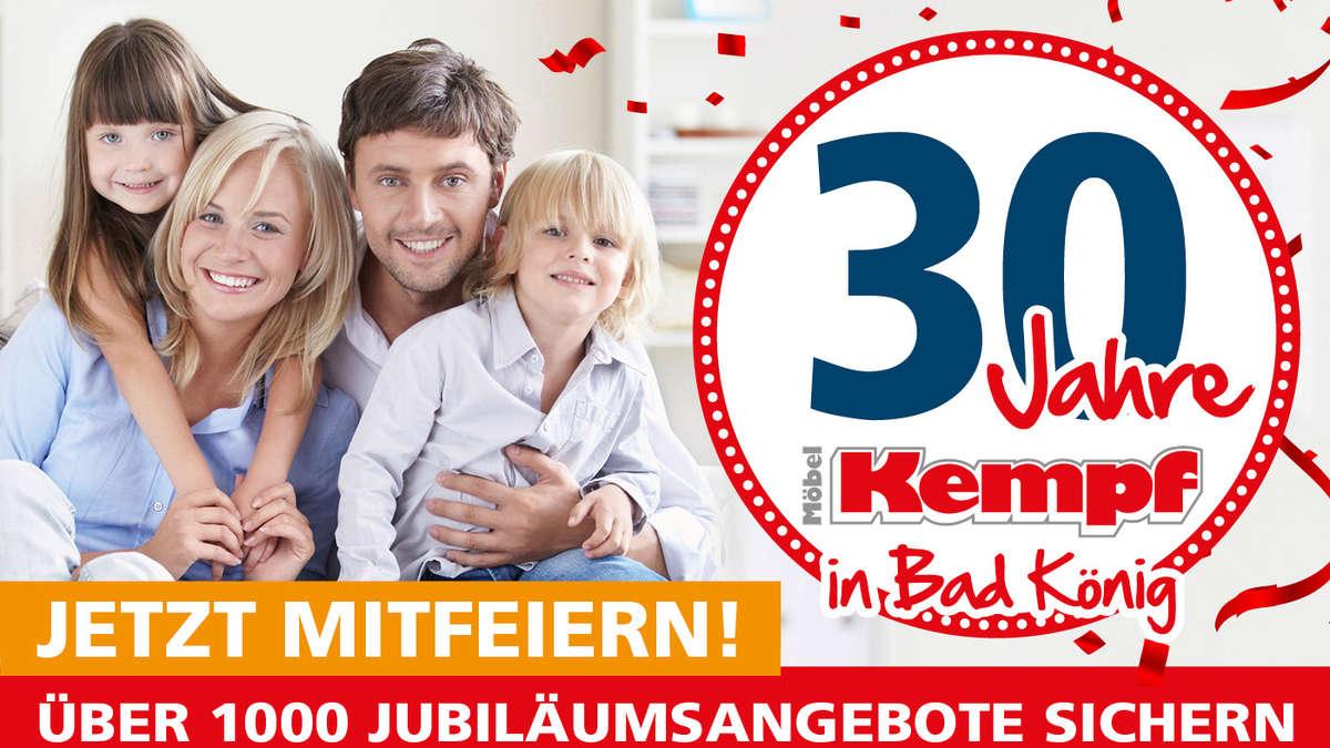 Möbel Kempf In Bad König Feiert 30 Jahre Wohnen