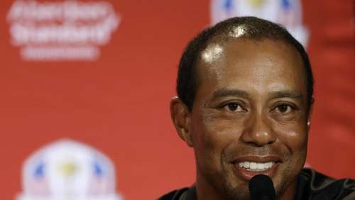 Golf-Superstar Woods beim Ryder Cup - Krönung des Comebacks