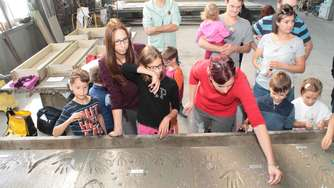 "Bilder: ""Walk of Fame"" in Rodgau"