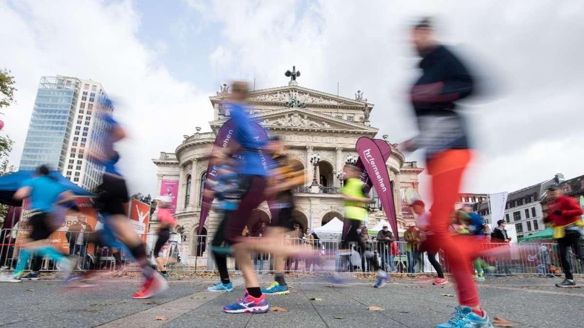 Frankfurt Marathon Fahrplanänderungen Im Nahverkehr Frankfurt