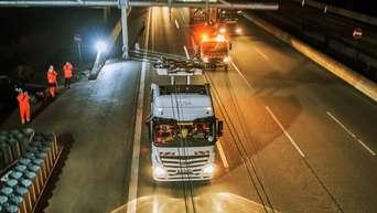 Erster Elektro Lkw Auf Der A5 Testabschnitt Zwischen Langen Und