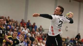 3 Handball Liga Ost überragender Torwart Schermuly Sichert Hanau