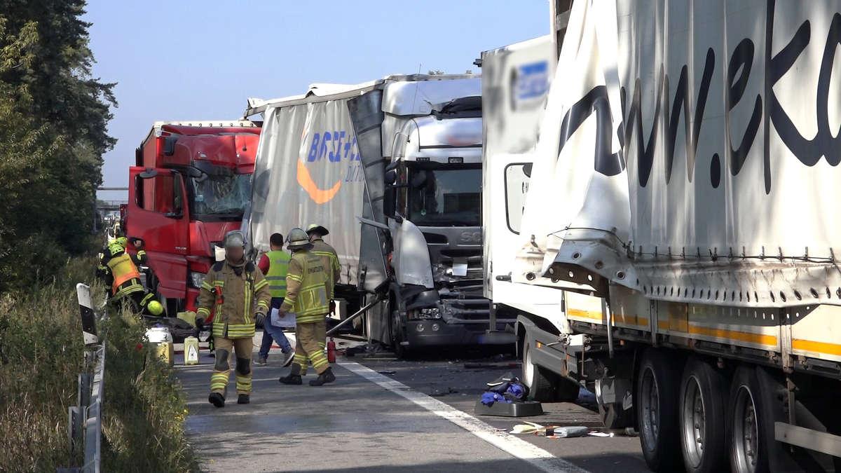 Unfall A63 Heute Bilder