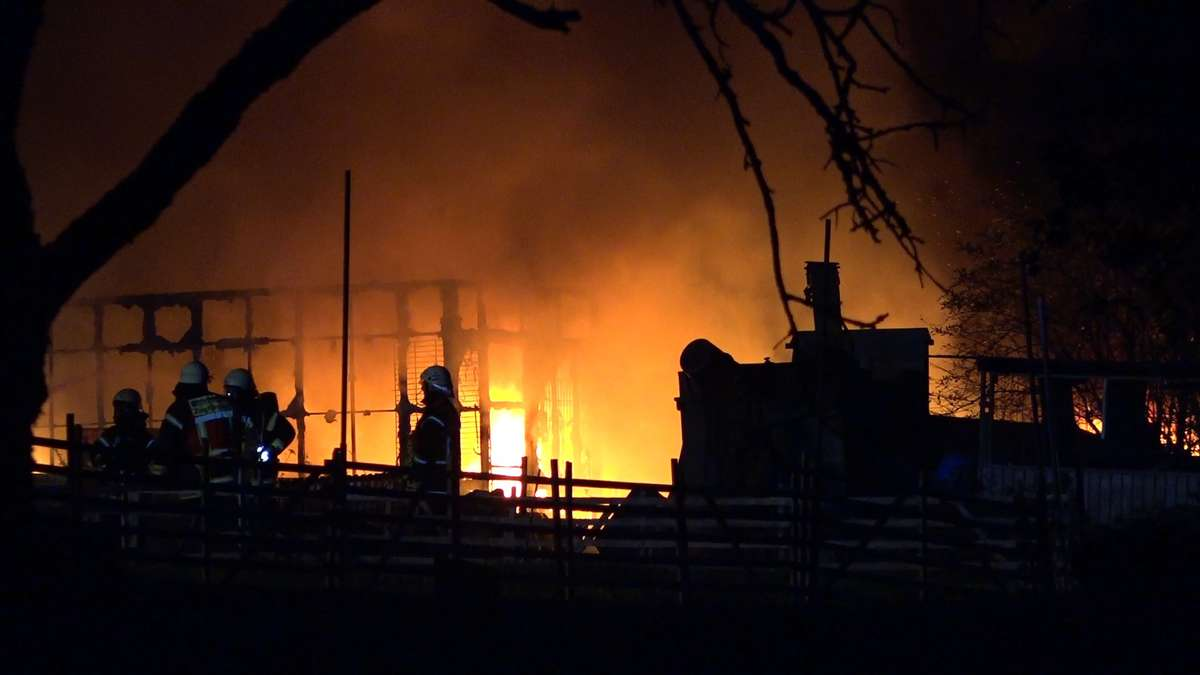 Hanau: Brand auf Hubertushof in Maintal - Polizei hat sofort einen Verdacht | Hessen - op-online.de