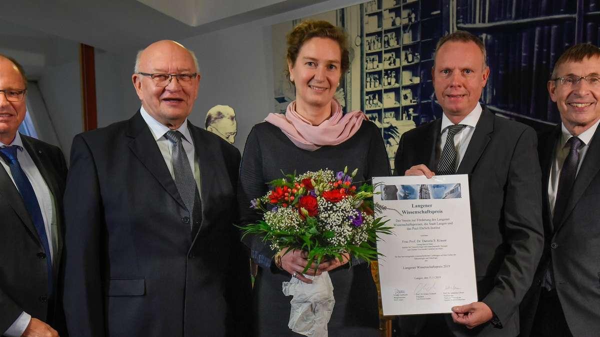 Langen (Hessen): Forschung zur Bekämpfung von Leukämie gewürdigt   Langen - op-online.de