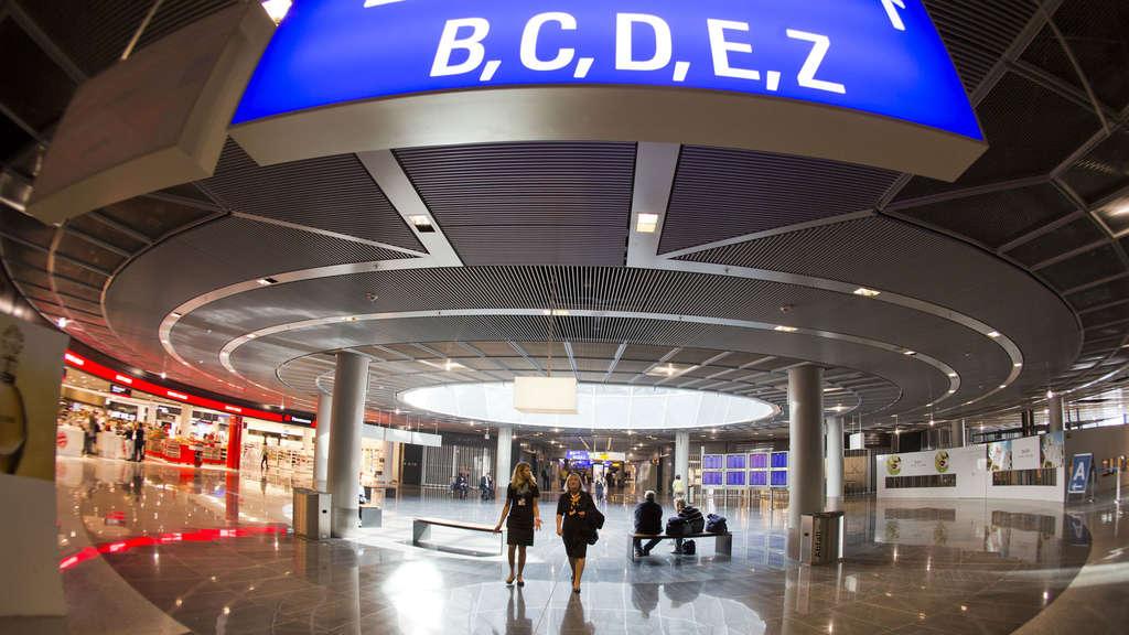 Bundespolizei Frankfurt Flughafen Terminal 1