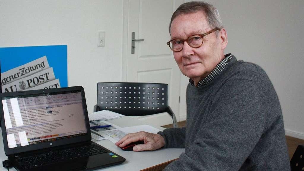 Lokalpolitiker mit Zahlenaffinität: Jens Hinrichsen von der DL/FW-UDS.