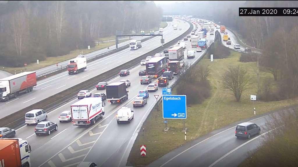 Verkehr A3 Frankfurt