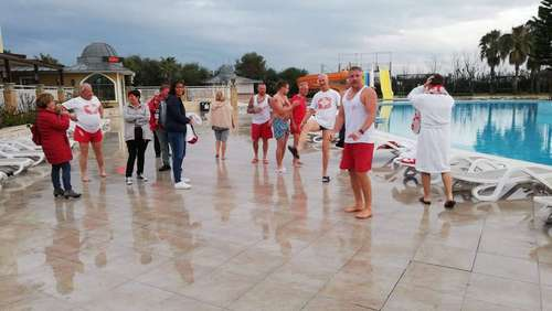 OFC im Trainingslager: Pool-Wette und spendable Fans