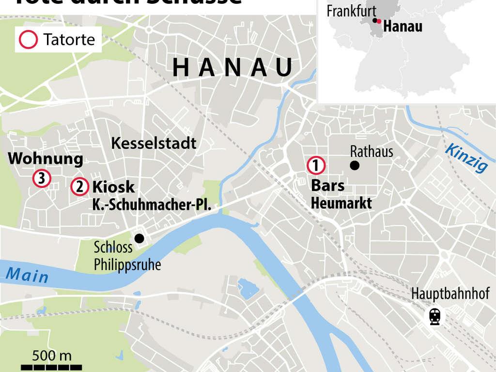 Anschlag In Hanau Tater Tobias R Hielt Vor Schussen Plane Geheim